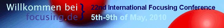 22nd International Focusing Conference